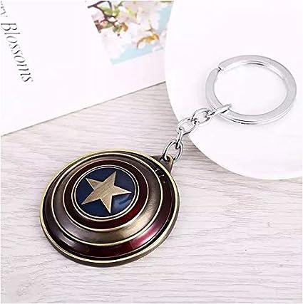 Llavero de aleación con escudo del Capitán América de la ...