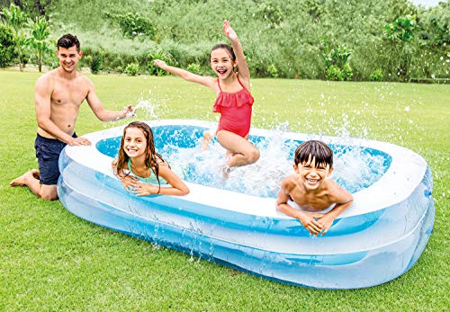 "Intex Swim Center Family Inflatable Pool, 103"" X 69"