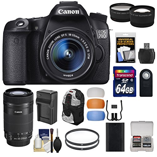 canon-eos-70d-digital-slr-camera-ef-s-18-55mm-55-250mm-is-stm-lens-64gb-card-battery-charger-backpac