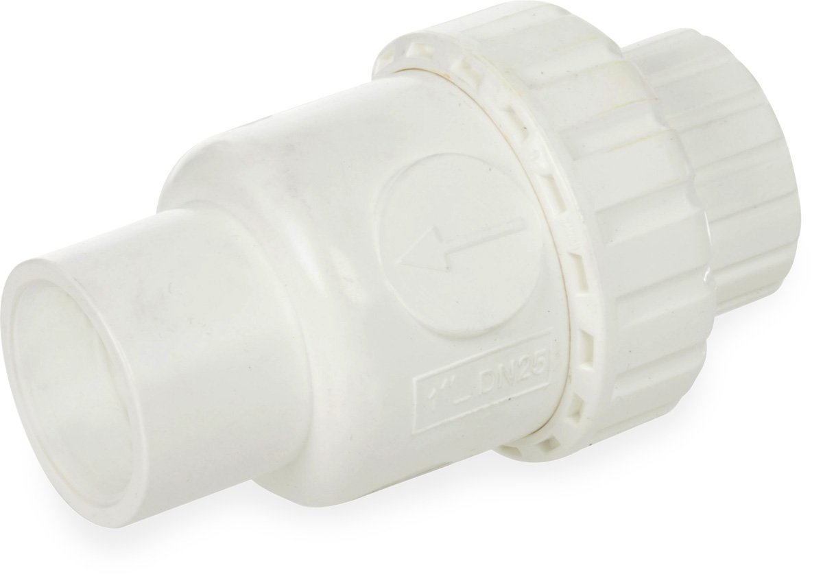 Smith-Cooper International CV50 Series PVC Check Valve 1 Slip