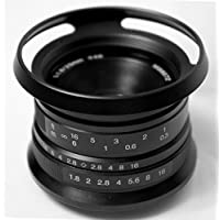 Hengyijia 25mm F1.8 (Black) HD.MC Manual Lens for Fujifilm FX X mount Camera