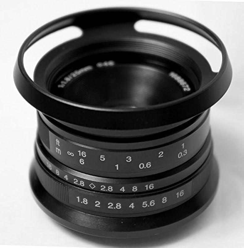 Hengyijia 25mm F1.8 렌즈 Panasonic Olympus 적용