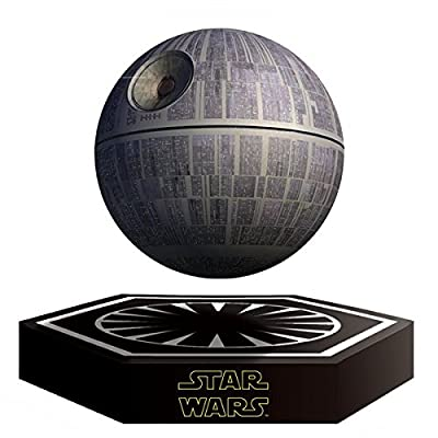 Star Wars Death Star Levitating Speaker Bluetooth Wireless Portable Rechargeable High Quality Floating Sound System
