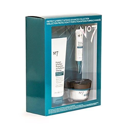 No7 Protect & Perfect Intense Advanced Collection   No7 Moisturising Body Serum 6.7 Fl Oz   No7 Eye Cream 0.5 Fl Oz   No7 Anti-ageing Day Cream (SPF 30) 1.69 Fl Oz -