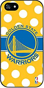 Coveroo New Guardian Case for iPhone 5s/5 - Retail Packaging - Golden State Warriors Polka Dots Design