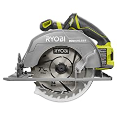 Make cutting through lumber a breeze. Use the Ryobi P508 circular saw to cut planks down to size for a construction project or tear them apart for a demolition project. Ryobi has high power coupled with cordless convenience, so you can use th...