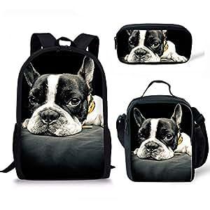 Amazon.com: Instantarts - Mochila con estampado de perro ...