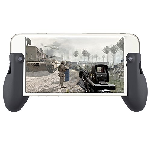 Aboom PUBG Mobile Controller Grip iPad and Mobile Phone Silicon Ergonomic Controller Grip Converter ,fps Game controller Grip Review