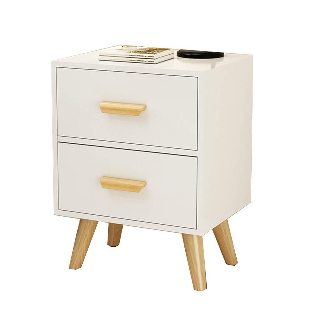 NAN サイドテーブルロッカー - 現代サイドテーブルのベッドサイドテーブル、ベッドルームリビングルーム、3色から選ぶことができます。 ワークベンチ (色 : A)  A B07KTY3BXD