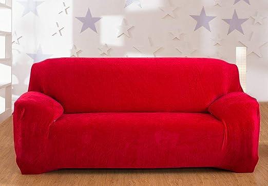 Fundas de sofá de terciopelo grueso de 1/2/3/4 plazas, color ...