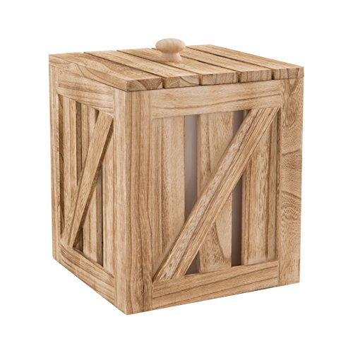 (Artland 22112 Mixology Ice Bucket Storage, Medium, Wood)
