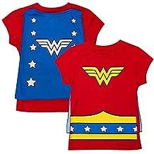Wonder Woman Cape Costume Tee Shirt