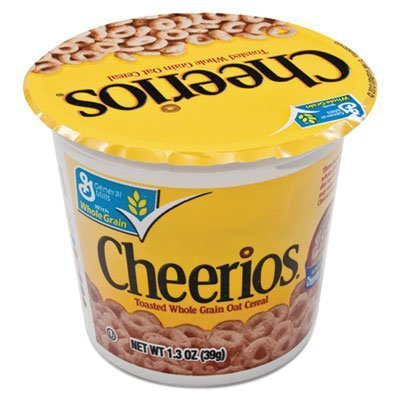 Cereal Advantus Cheerios (General Mills - Cheerios Breakfast Cereal, Single-Serve 1.3oz Cup, Six Cups/box by Advantus Corp. - Products)