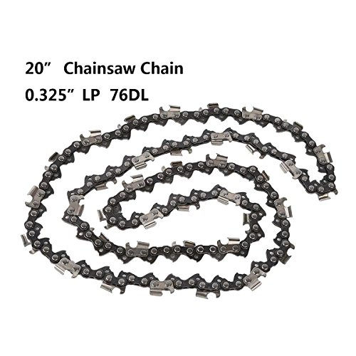 Tengchang 20'' inch Chainsaw Chain 325 Pitch .058 Gauge 76 DL Saws Spare Parts Replacement - Inch Pitch Chain