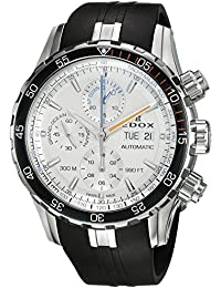 Men's 'Grand Ocean' Swiss Automatic Stainless Steel and Rubber Diving Watch, Color:Black (Model: 01123 3ORCA ABUN)