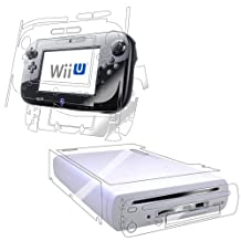 Nintendo Wii-U Screen Protector, IQ Shield? LiQuidSkin Full Body Skin + Full Coverage Screen Protector for Nintendo Wii-U (Console+GamePad) HD Clear Anti-Bubble Film - with Lifetime Warranty by IQShield