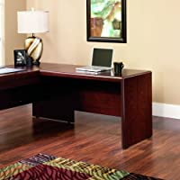 Sauder Cornerstone 48 Desk Return in Classic Cherry