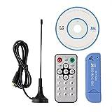 Blue Ocean Digital USB2.0 RTL2832U+R820T Tuner Receiver Stick DVB-T SDR+DAB+FM TV HDTV Blue
