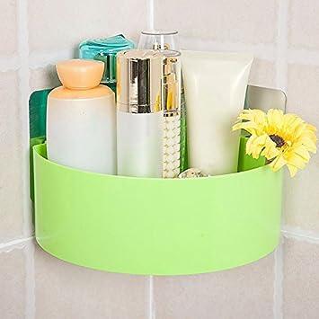 Badezimmer regale badezimmer dreieck kunststoff regal winkel rahmen keine bohrung an der wand