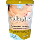 Bio Nutrition Colla-Flex Hydrolyzed Collagen Natural Vanilla - Strengthen Bones - Healthy Weight Management - Gluten Free - 240 g (Pack of 3)