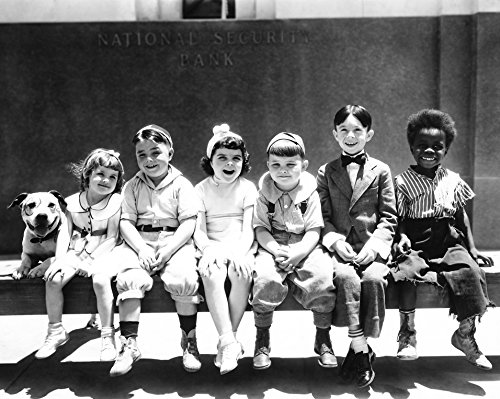 Little Rascals Our Gang 11x14