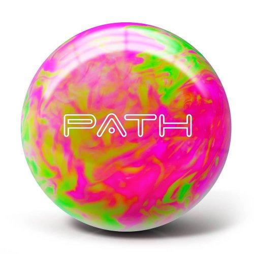 Pyramid Path Bowling Ball (Hot Pink/Lime Green, 12LB)