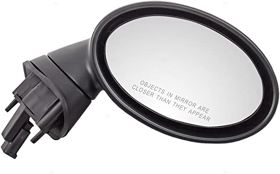 Passengers Power Side View Mirror Heated Ready-to-Paint Replacement for MINI 51167192474 AutoAndArt