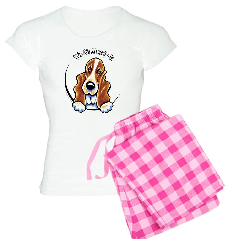 CafePress Pink Basset Hound Womens PJs