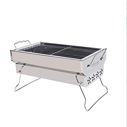 Amazon.com: HY - Trípode plegable para barbacoa al aire ...