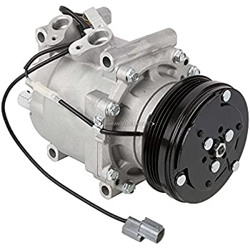 AC Compressor & A/C Clutch For Honda Civic Civic del Sol CR-V - BuyAutoParts 60-01457NA NEW