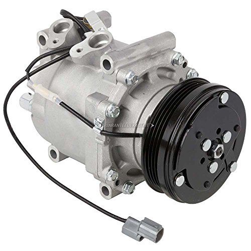 AC Compressor & A/C Clutch For Honda Civic Civic del Sol CR-V - BuyAutoParts 60-01457NA (Honda Civic A/c Clutch)