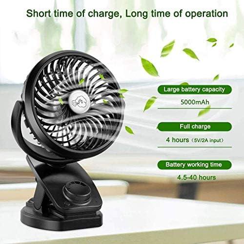 Desk Fan, ABS oscillerende bureau ventilator met krachtige 28W Motor Electric Turbo Air Circulator Fan - Grootte: 280X160X278mm voetstuk fan ggsm 158aAIiR