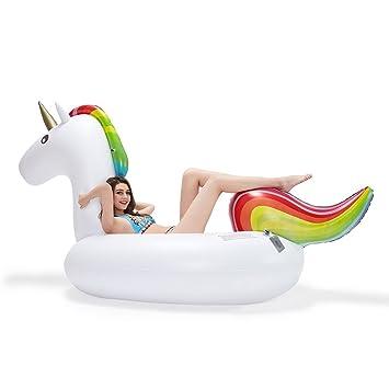 eBasic Flotador inflable del tubo del partido del unicorn