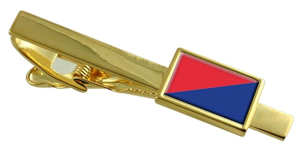 リオバンバ市エクアドルの国旗金タイクリップ刻印されパーソナライズされた   B06ZZC3LQN