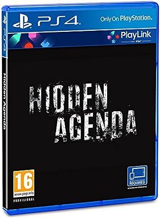 Sony Hidden Agenda, PS4 vídeo - Juego (PS4, PlayStation 4 ...