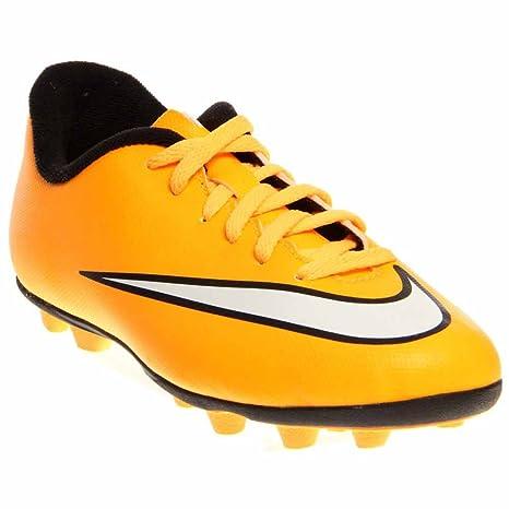 Nike 651642 800 - Botas de fútbol de Cuero para niño 36.5EU  23.5cm ... 6277286daba40
