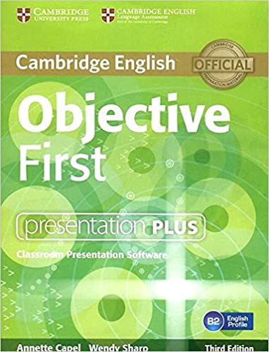 Objective First Presentation Plus DVD-ROM 3rd Edition