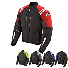 Joe Rocket Atomic 4.0 Men's Riding Jacket (Neon Yellow, Medium)