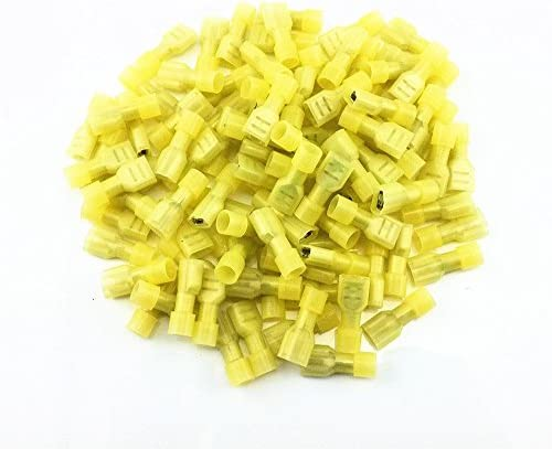 American Terminal E-FMY250N-100 12//10-Gauge Male Yellow Quick Disconnects