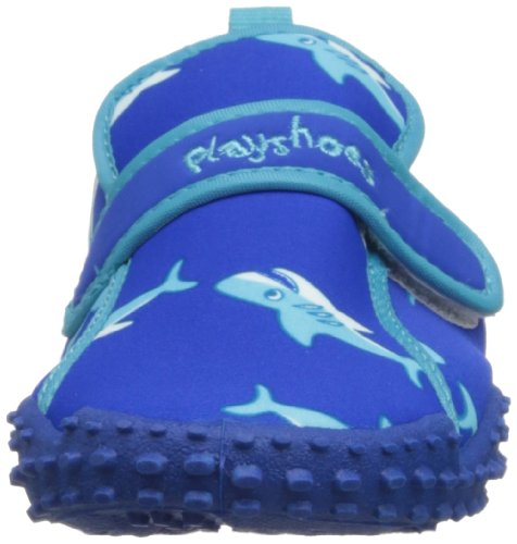 Playshoes Boys UV Protection Shark Collection Aqua Swimming/Beach Shoes (11.5 M US Little Kid) by Playshoes (Image #4)