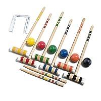 Juego de croquet de lujo