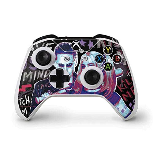 DC Comics Suicide Squad Xbox One S Controller Skin - Harley Quinn Madly in Love Vinyl Decal Skin For Your Xbox One S Controller