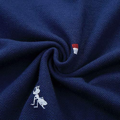 [MARVELLOUS]ポロシャツ メンズ 半袖 ゴルフウェア コットン カジュアル スポーツ シャツ 水玉柄 ボタンダウン ファッション 吸汗速乾 tシャツ 夏服