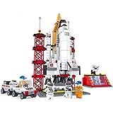 Ausini F25806 Space Shuttle Launching Base 560pcs Educational DIY Construction Brick Toy