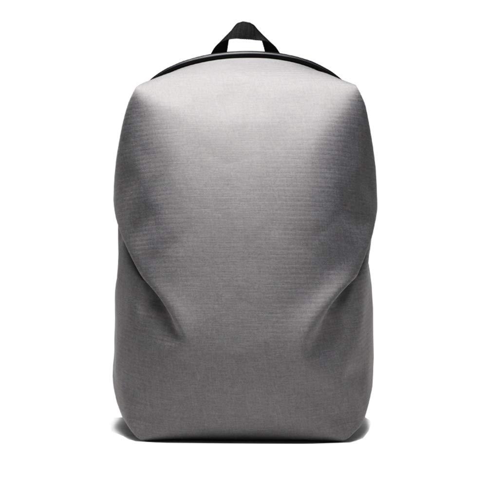 メンズ港風のバックパックシンプルな野生のファッションの傾向の人格学生オックスフォード布カジュアルなバックパックの韓国語版 Small grey B07LD5LBCC