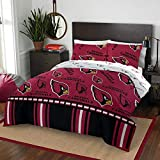 """NFL Arizona Cardinals """"Rotary"""" Queen Bed In a Bag"""