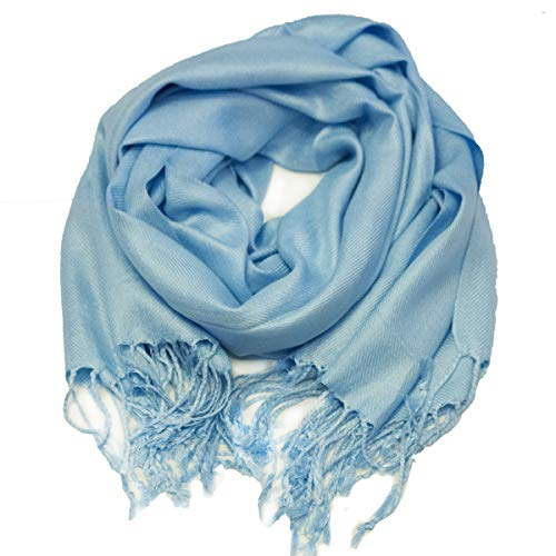 Syndey Collection Women's Pashmina Cashmere-Feel Shawl Wrap Scarf