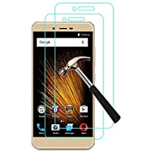 """[Pack of 2] BLU VIVO XL2 Maximum Protection Screen Protector, Gzerma Shatter-Proof Easy Installation Bubble Free Protective Film for BLU VIVO XL 2 5.5"""" Smartphone"""