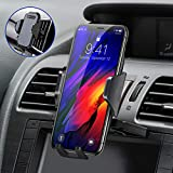 Ultra Stable Car Phone Mount, VICSEED 2019 Newest CD Slot & Air Vent Universal Cell Phone Holder for Car, Fit for iPhone 11 Pro Max Xs Xr X 8 7 Plus, Galaxy Note 10 S10+ S10 S9 S8 Google LG Etc.