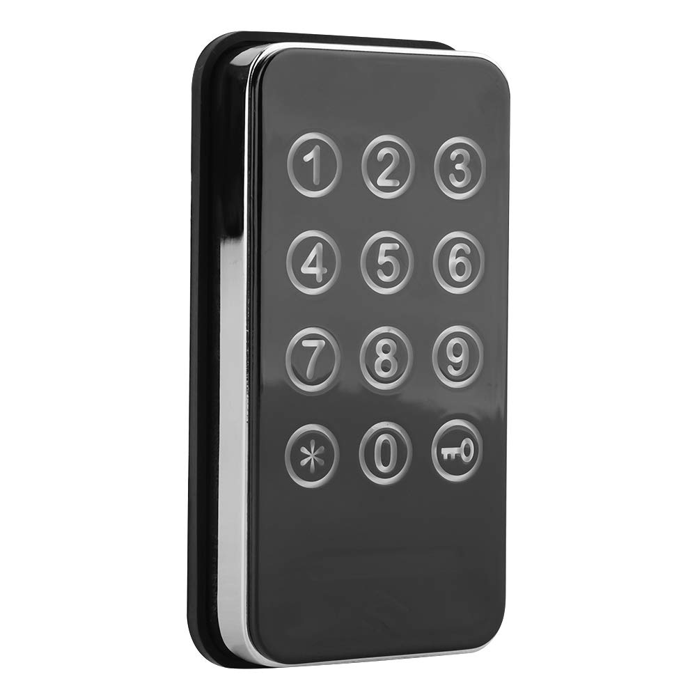 Digit Code Combination Cabinet Keyless Lock Electronic Cabinet Lock Kit for Spa Door Cabinet Tool Boxes
